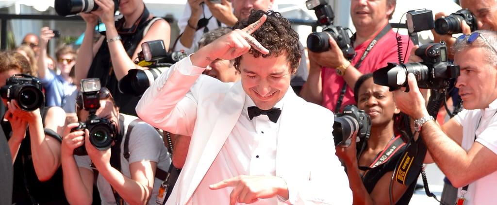 Rejoice! Shia LaBeouf Brings Back His Louis Stevens Curls in Cannes
