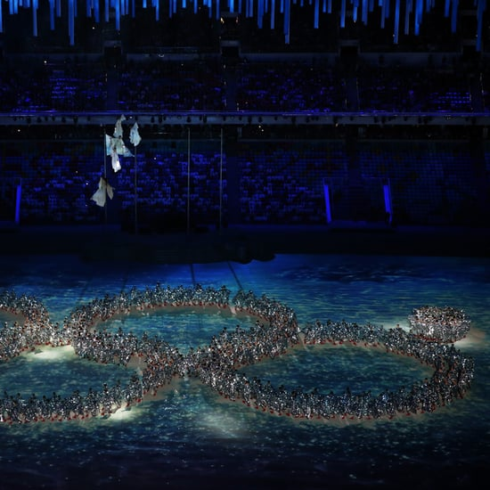 Snowflake Malfunction Reenactment in Sochi Closing Ceremony
