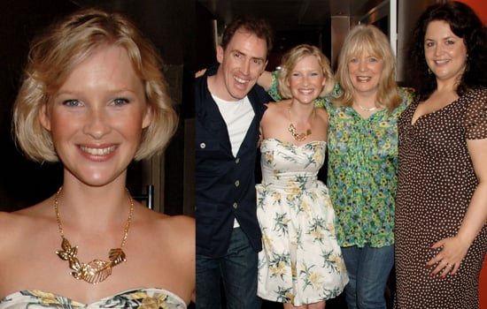 """Joanna Page Is Joined By Her Gavin And Stacey Castmates At The """"Fat Pig"""" Press Night"""
