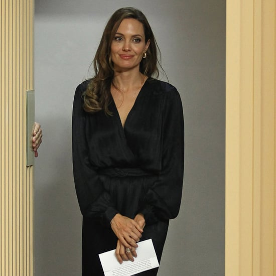 Angelina Jolie Pictures at London Blood and Honey Screening