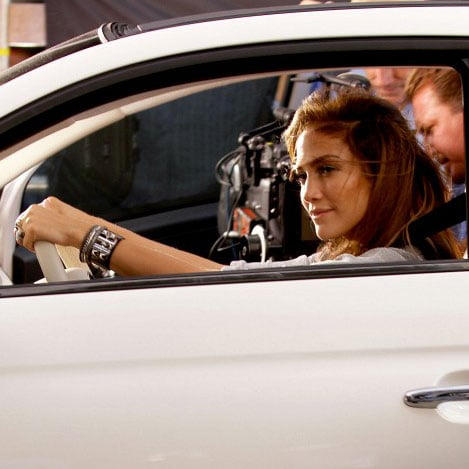 Jennifer Lopez Filming a Music Video in Downtown LA Pictures