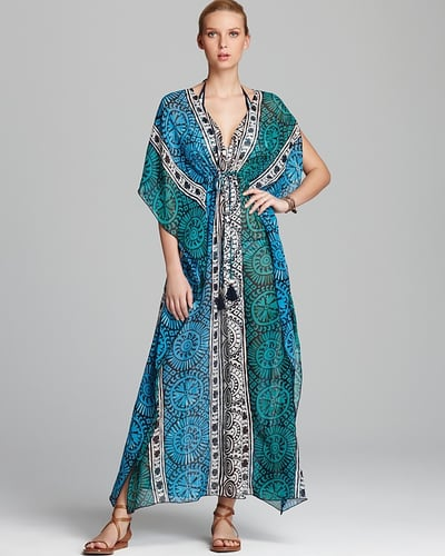 Tory Burch Tofino Long Caftan Swimsuit Cover Up