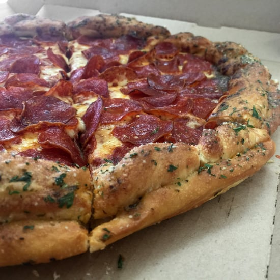 Pizza Hut Breadstick-Crusted Pizza Review