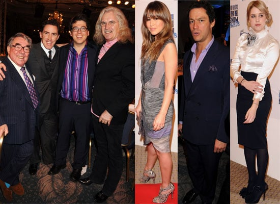Photos of Celebs at the South Bank Show Awards 2010 including Dominic West, Damien Lewis, Rachel Weisz, Billy Connolly