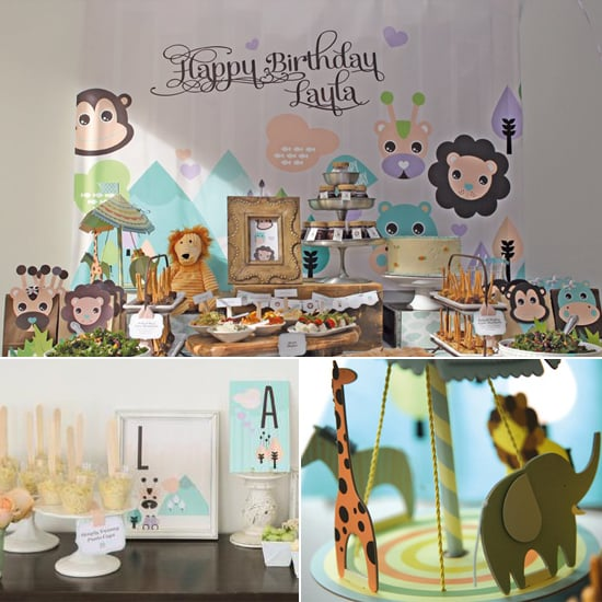 A Baby Safari First Birthday Party