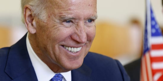 Joe Biden Dishes On Romance And Skincare With Rachael Ray