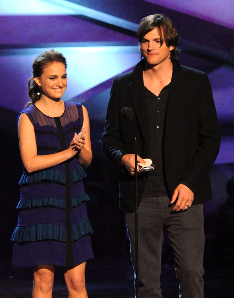 Pregnant Natalie Portman Glows — and Flashes Engagement Ring! — at People's Choice Awards