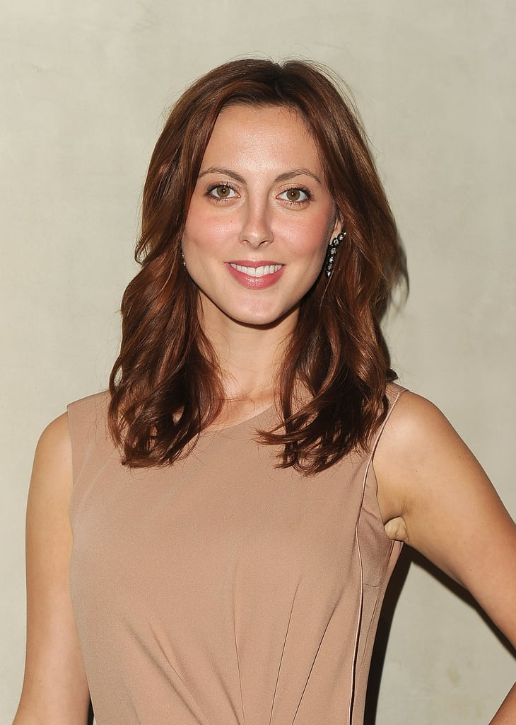 Eva Amurri went for neutral tones at an Armani dinner.