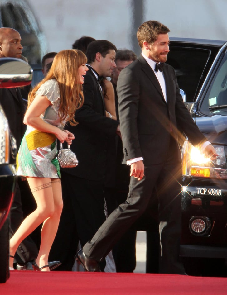 Pictures of Jake Gyllenhaal and Jenny Lewis at Golden Globes