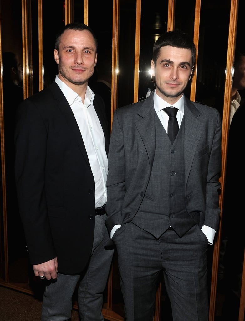 Milos Timotijevic and Boris Ler at the afterparty for In the Land of Blood and Honey.