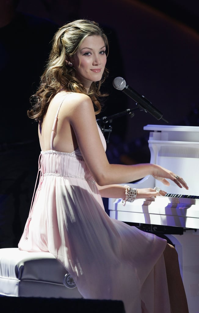 Delta performed at the World Music Awards in Hollywood in Aug. 2005.