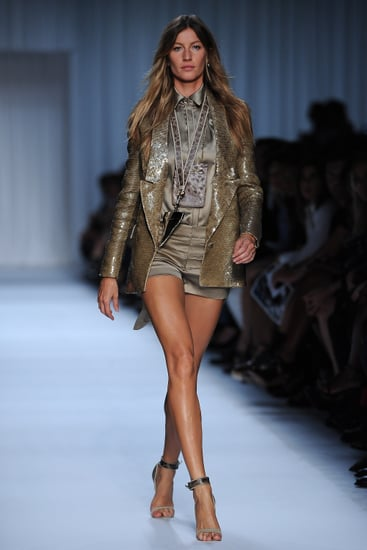 Gisele Bundchen at Givenchy Spring 2012 — Ad Campaign Buzz
