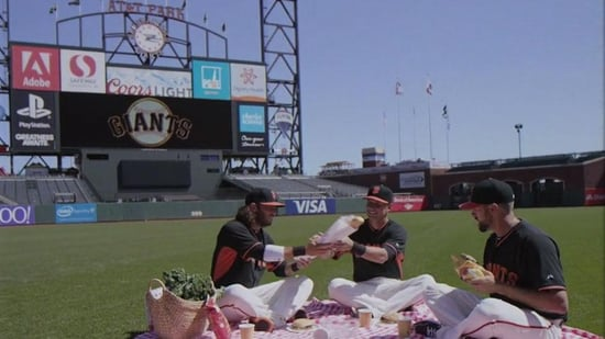 FROM SI: Watch the San Francisco Giants Recreate the Full House Opening Credits