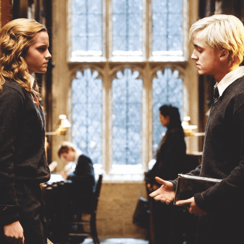 Malfoy and Hermione GIFs