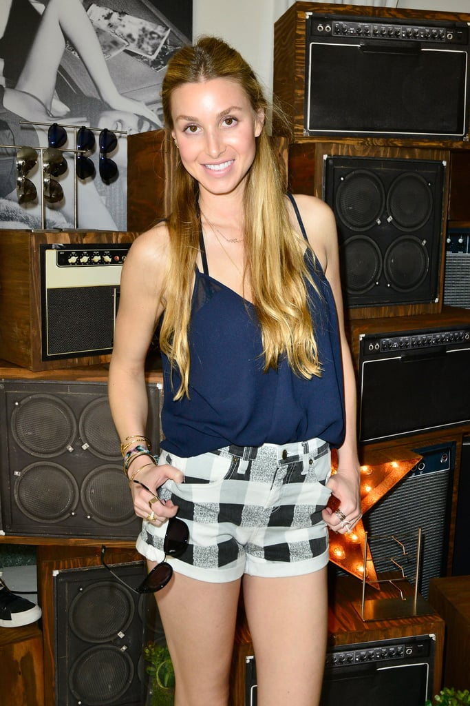 Whitney Port looked good in plaid.