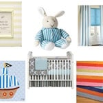 Lines and Stripes Baby Room