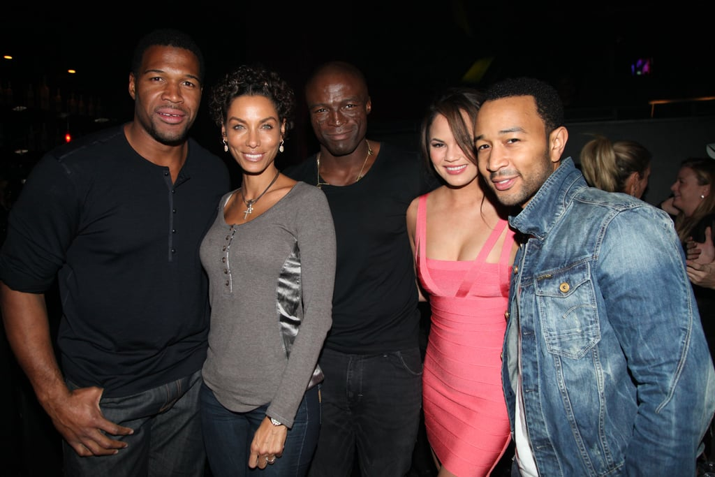 Michael, Nicole, Seal, Chrissy, and John