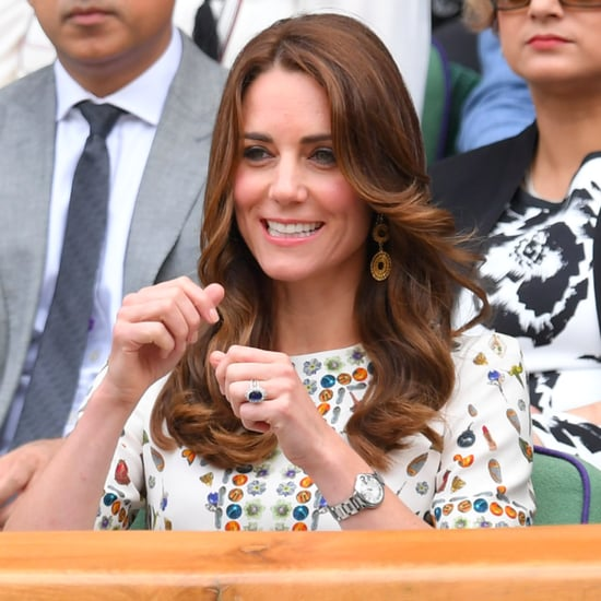 Kate Middleton's Alexander McQueen Dress Wimbledon 2016
