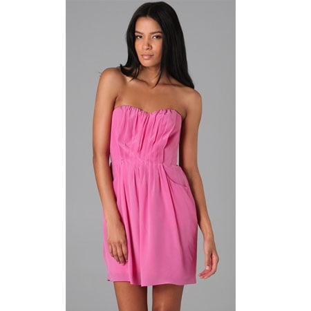 Grecian Strapless Dress