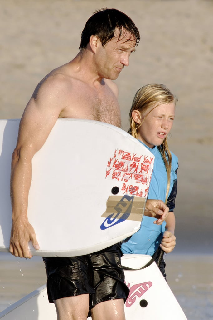 Stephen Moyer and Lilac Moyer spent some father-daughter time in Venice Beach.