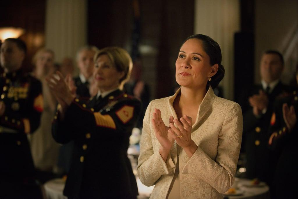 Linda Vasquez (Sakina Jaffrey) on House of Cards. Source: Netflix