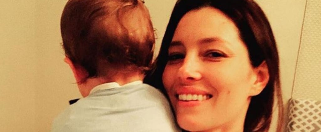 Justin Timberlake and Jessica Biel's Son Wears Matching Onesies Honoring Both of His Parents