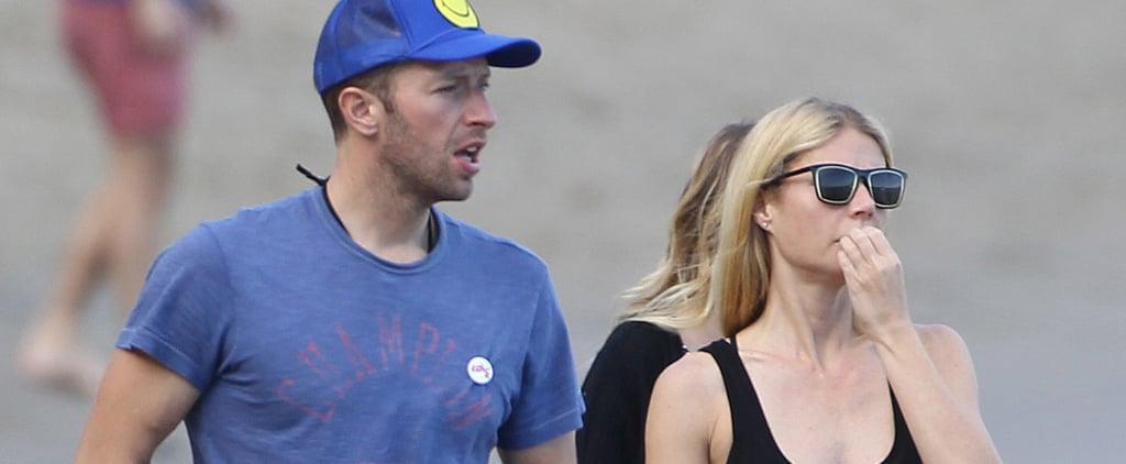 Gwyneth Paltrow and Chris Martin Meet Up For a Malibu Beach Day