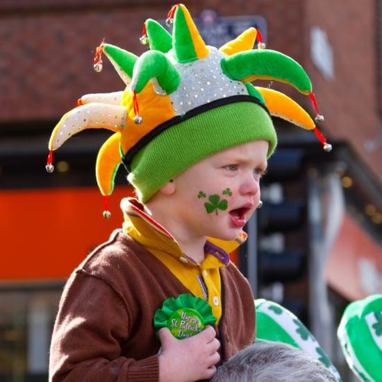 Kids Not Celebrating St. Patrick's Day