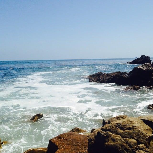 Jessica Alba shared her gorgeous view.  Source: Instagram user jessicaalba