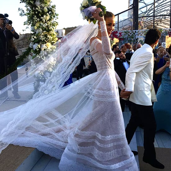 See Model Ana Beatriz Barros Gorgeous Wedding Photos (Alessandra Ambrosio Was a Bridesmaid!)