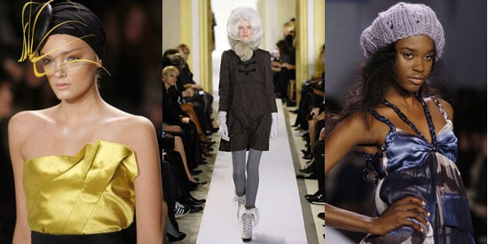 Trend Alert - Special Runway Edition! Mad Hats
