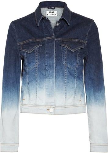 Acne Stace dégradé stretch-denim jacket