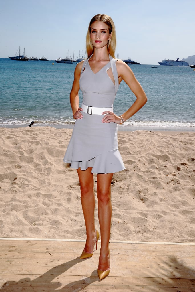 Rosie Huntington-Whiteley at a Magnum Press Event