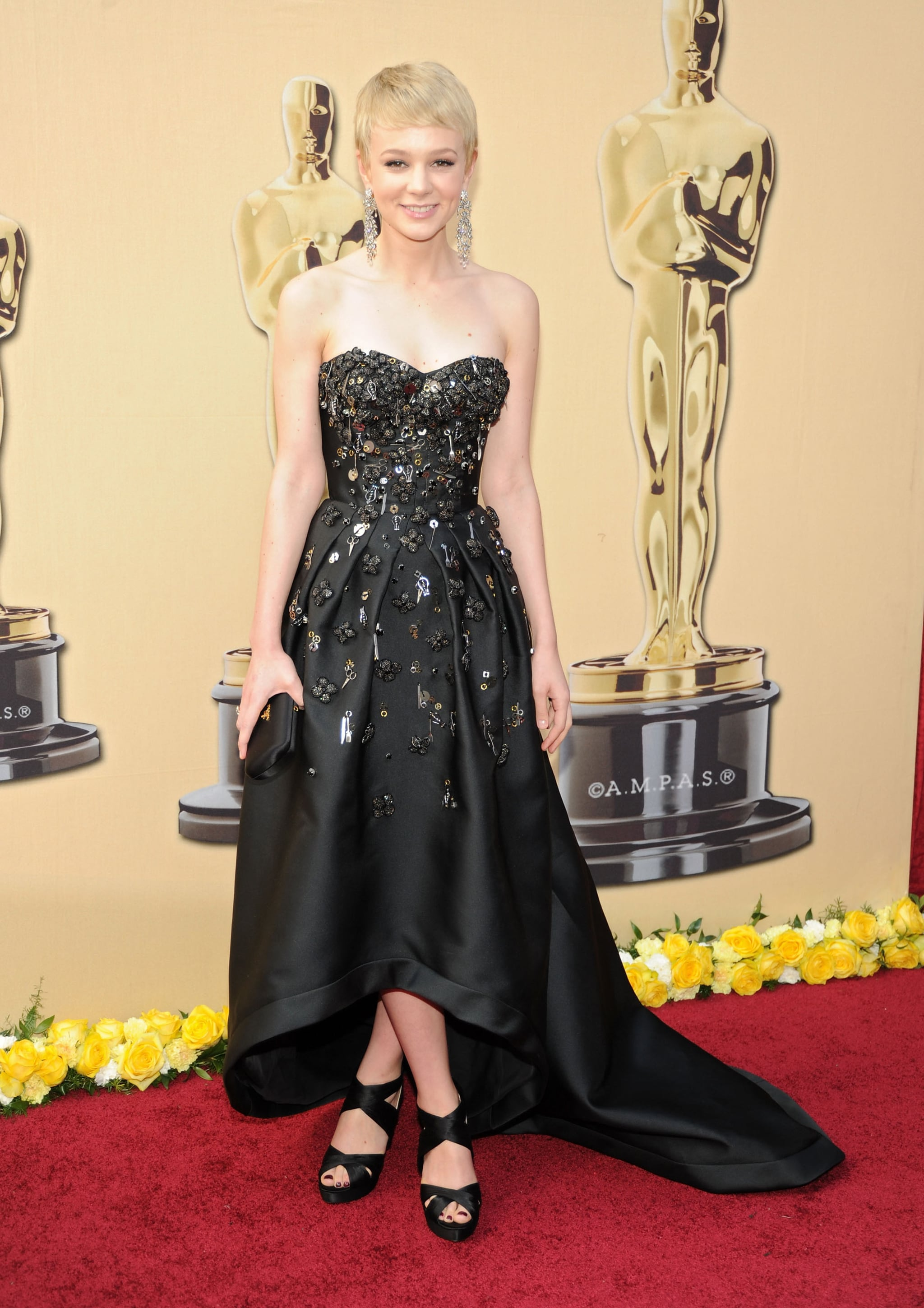 Carey Mulligan in a Prada Gown at the 2010 Oscars