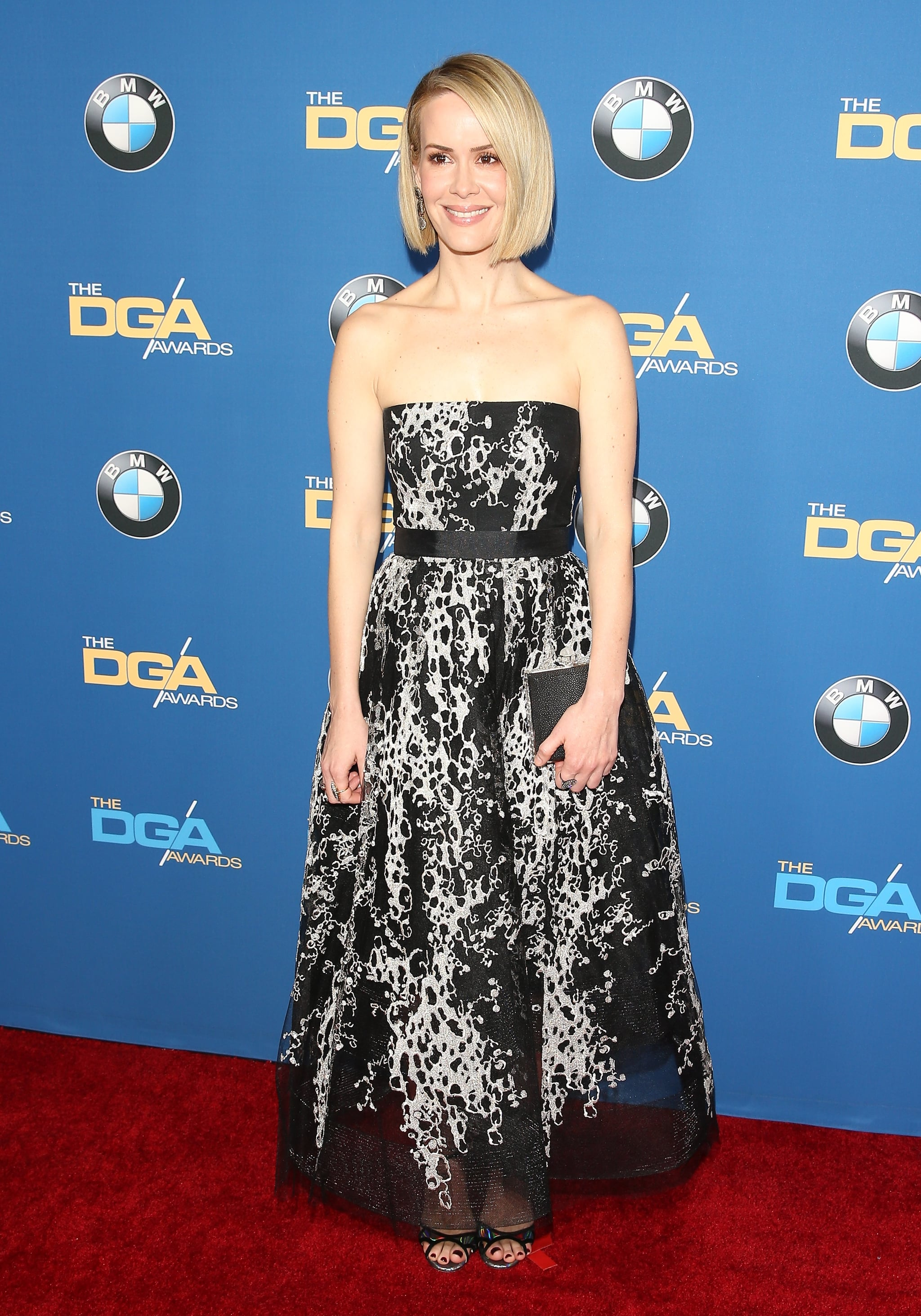 Sarah Paulson stepped out for the Directors Guild Awards.