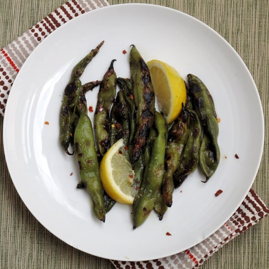 Whole Grilled Fava Beans Recipe