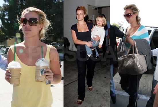 Photos of Britney Spears With Jayden James and Sean Preston In LA 2008-09-29 05:00:00