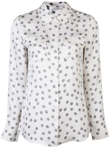 10 Crosby By Derek Lam Printed shirt