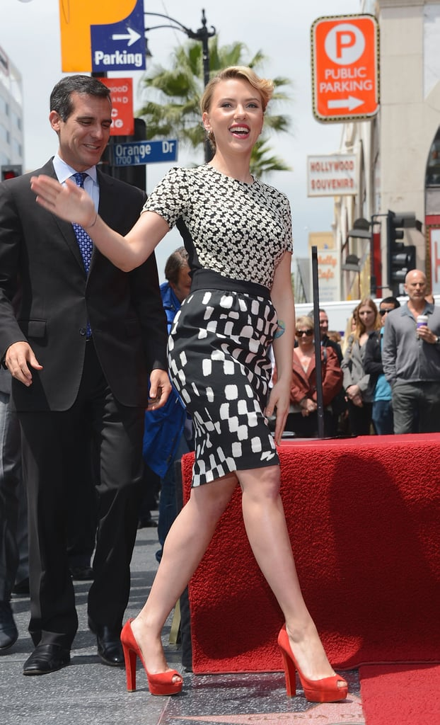 May 2012, Hollywood Walk of Fame Star Presentation