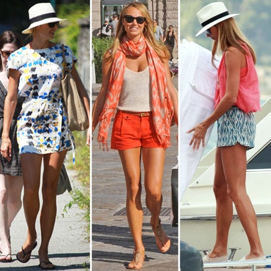 Stacy Keibler's La Dolce Vita Wardrobe Inspires Our End-of-Summer Look
