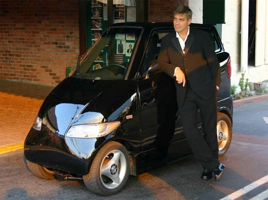 George Clooney Gets Eco Chic