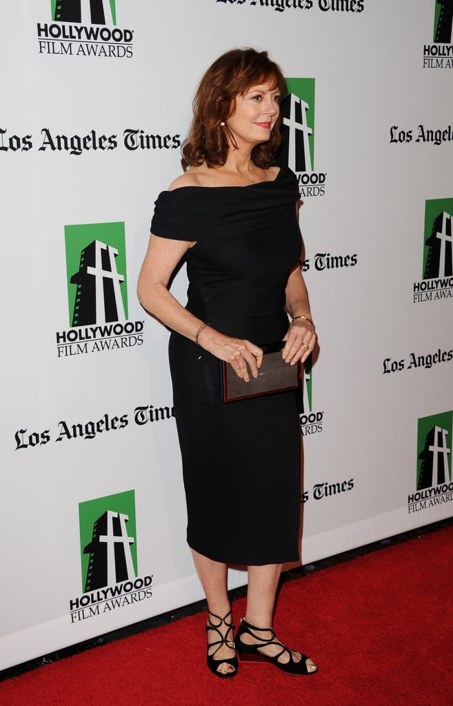 Susan Sarandon attended the Hollywood Film Awards gala in Los Angeles.