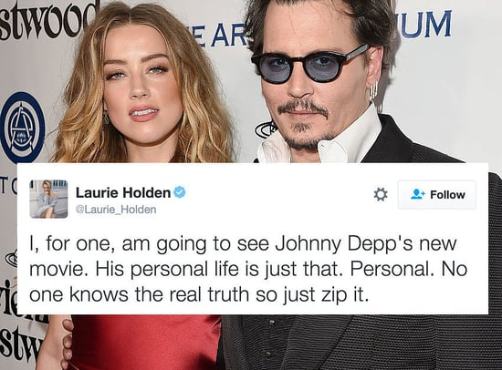 "People Are Furious At ""Walking Dead"" Star Laurie Holden For Defending Johnny Depp"