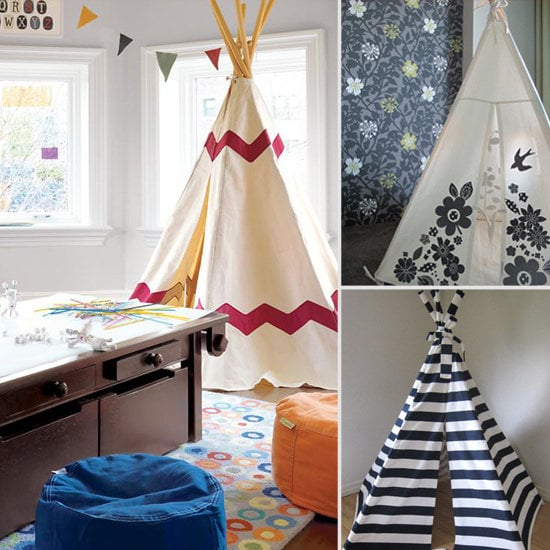 Glamping Hits the Playroom: Tents and Teepees For Little People
