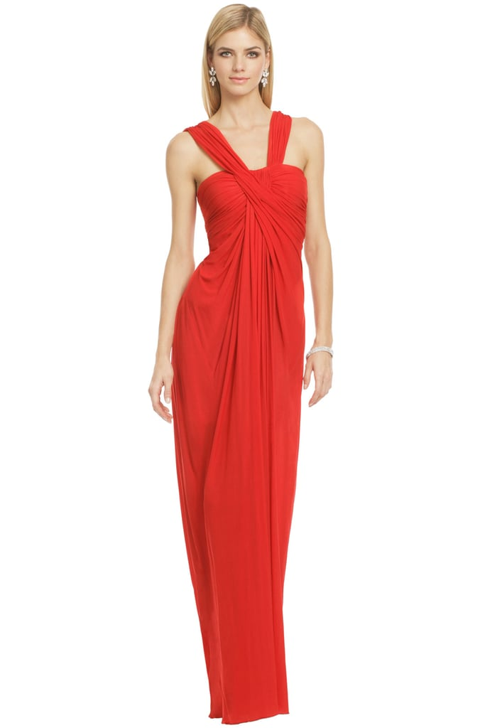 Looking for something red-hot for Valentine's Day? Borrow this stunning Donna Karan Lovers Lane gown for $400, originally $2,995.