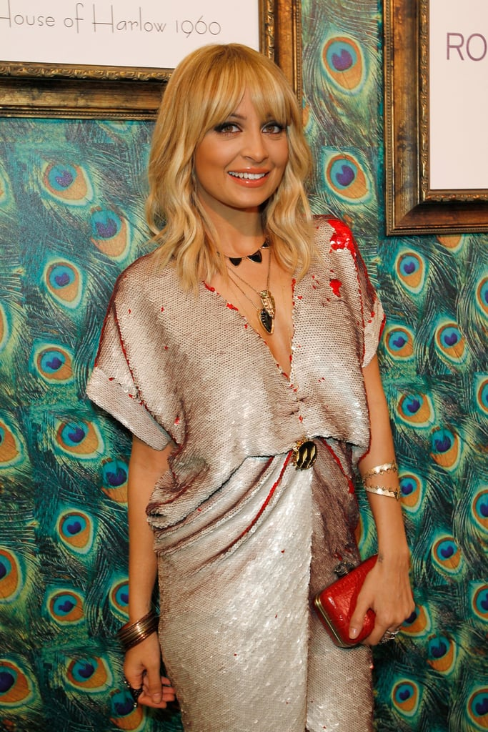 Nicole Richie Rocks Halston For a Fashionable House of Harlow Launch