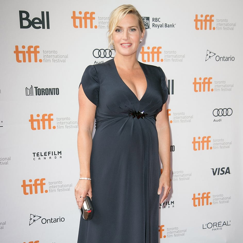"""A Pregnant Kate Winslet Talks About Her """"Wonderful"""" Chemistry With Josh Brolin at Labor Day Premiere"""