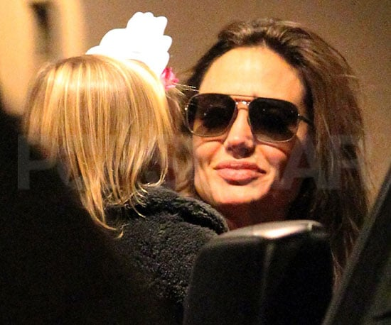 Pictures of Angelina Jolie and Vivienne Jolie-Pitt Departing Their NYC Hotel