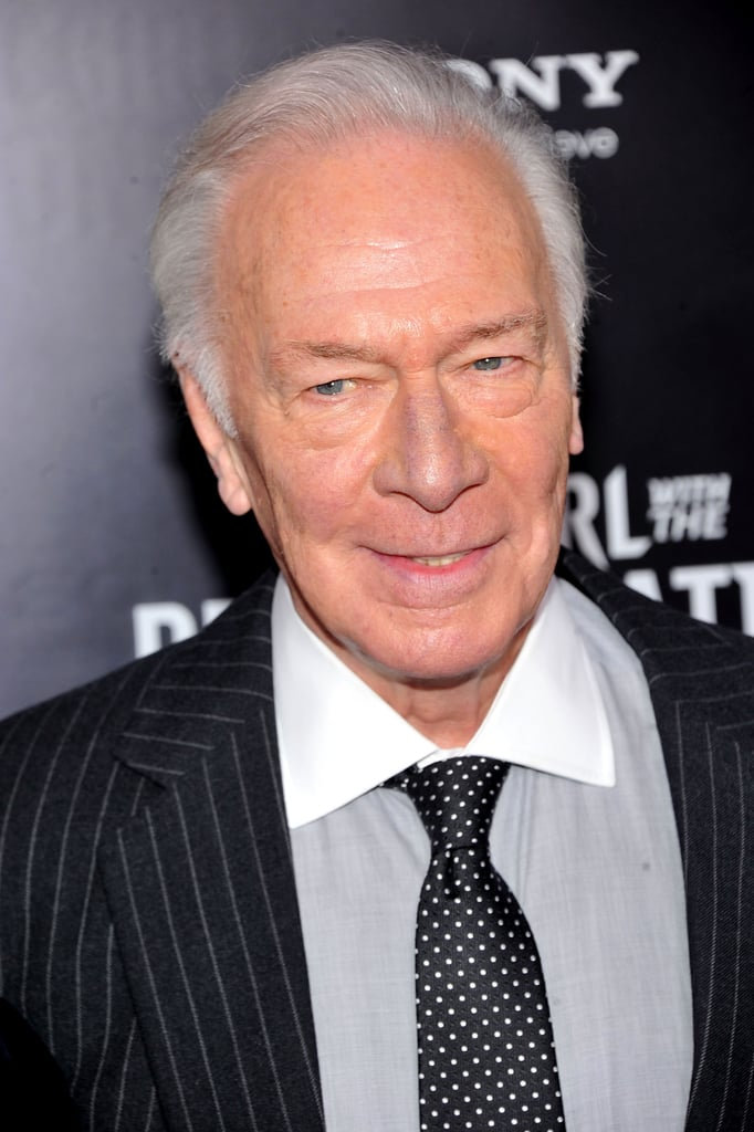 Christopher Plummer walked the red carpet for The Girl With the Dragon Tattoo in NYC.