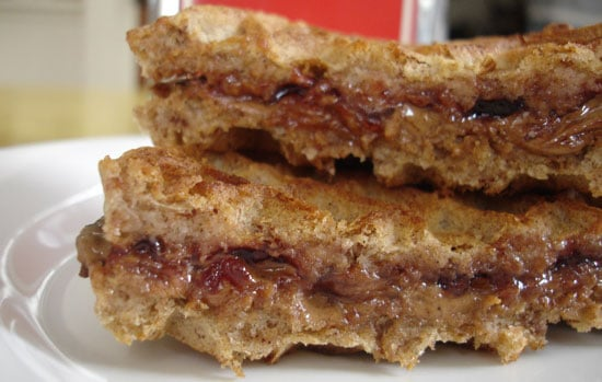 Sugar Shout Out: The Peanut Butter and Jelly Waffle 'Wich